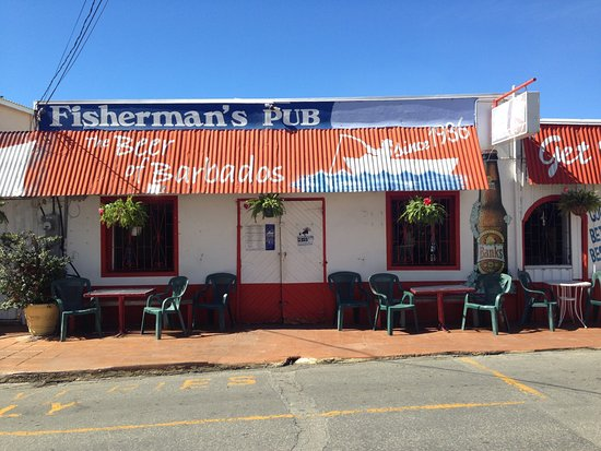 Speightstown, Barbados: Main restaurant. Taken when it was clised