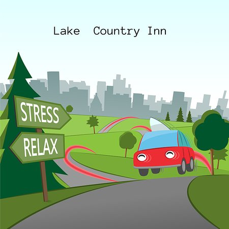 Lake Country Inn: cartoon