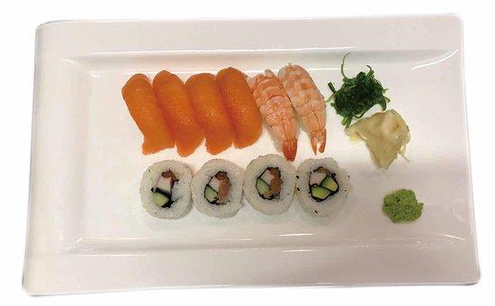 Bromma, Sverige: 非常不错的寿司。新鲜的食材,温馨的环境,很好的服务!