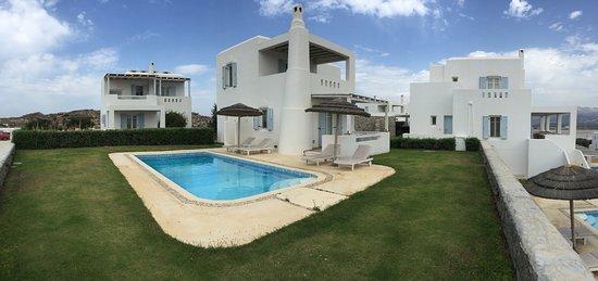 Agios Prokopios, Yunani: Villa w/ private pool