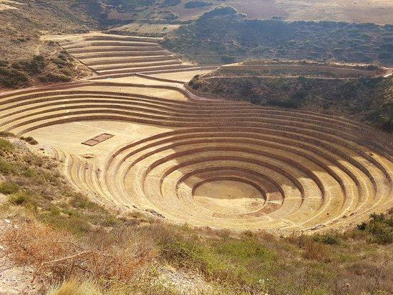 Maras, Perú: Perfetta geometria