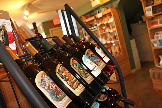 Okotoks, Canada: We sell several different kinds of mead(honey wine).