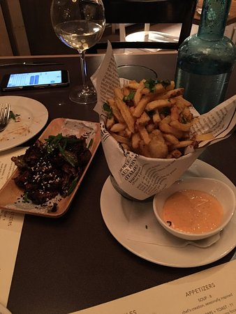 Urban Pantry: Cajun Frites & Charred Brussel Sprouts