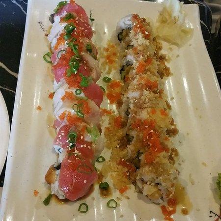 Brentwood, Kaliforniya: Sushi rolls