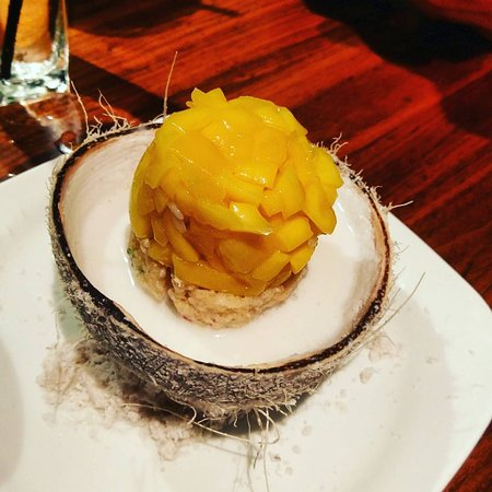 Southlake, تكساس: mango sticky rice