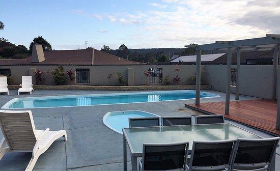 Eden, Australia: Pool & deck area