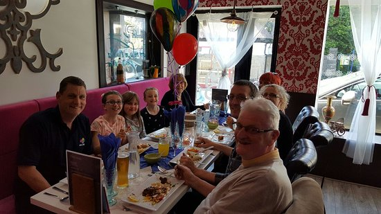 West Yorkshire, UK: Birthday party
