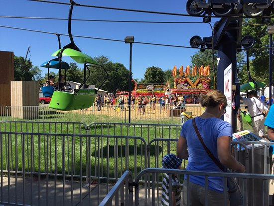 Minnesota State Fair: sky ride