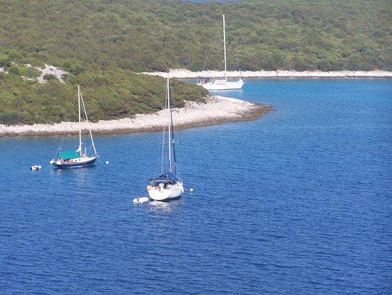 Losinj Island, Croatia: unije zaliv