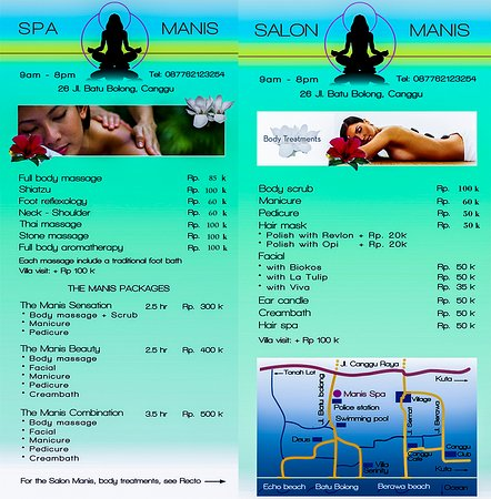 spa manis canggu cheap and great