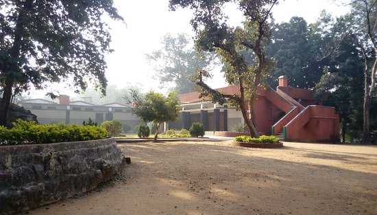 Palamu District, India: Betla Tourist Lodge within the forest.