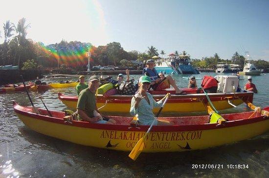 Hawaiian Outrigger Canoe and Snorkel