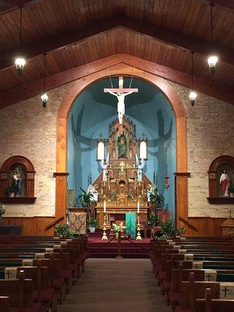 Mesilla, Nouveau-Mexique : High altar