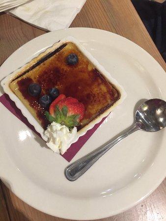 Betlehem, PA: Creme brûlée was good, not great