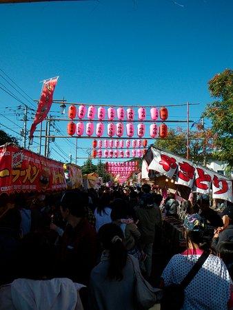 Kuriyama-cho, Japón: 栗山天満宮の例大祭