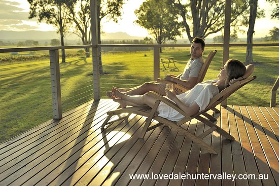 Relax in the beautiful area of Lovedale, Hunter Valley Wine Country, Australia