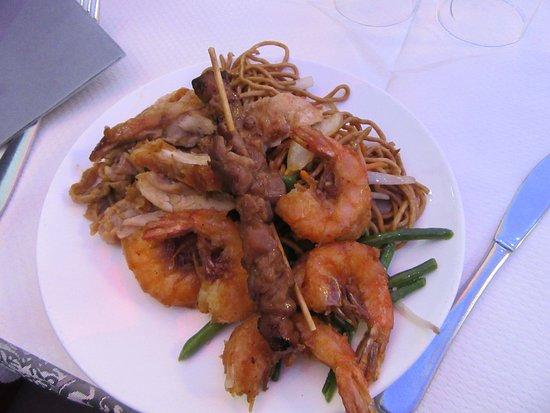 Velizy-Villacoublay, Frankrike: crevettes extra