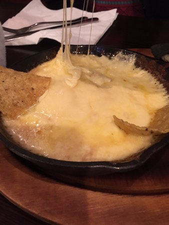 Hadley, MA: Queso Fundido. Gooey and delicious. Got it without chorizo