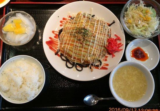 Itoigawa, Japón: 糸魚川ブラック焼きそば定食