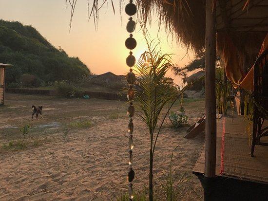 Patnem, Indien: my hut