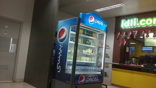 Seeb, Oman: Visicooler with Soft drinks