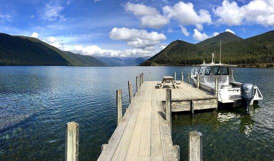 Nelson-Tasman Region, New Zealand: Lake Rotoroa in Nelson, South Island