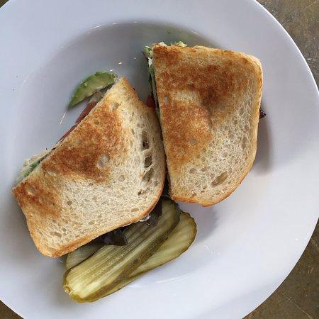 Avila Beach, CA: turkey, avocado 7 bacon sandwich