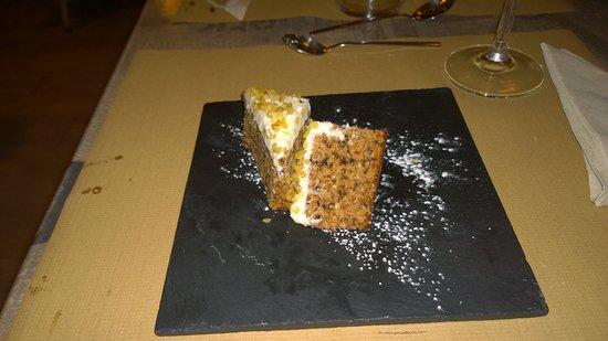 Algaida, Espagne : Tarta de zanahorias