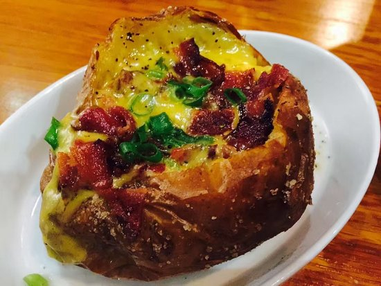 Zhengzhou, China: Baked Potato