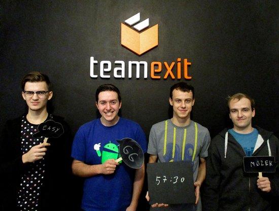 Team Exit: úniková hra Jihlava - hráči