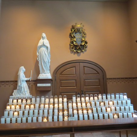 Candles for the Sick & Departed - Picture of Old Cathedral