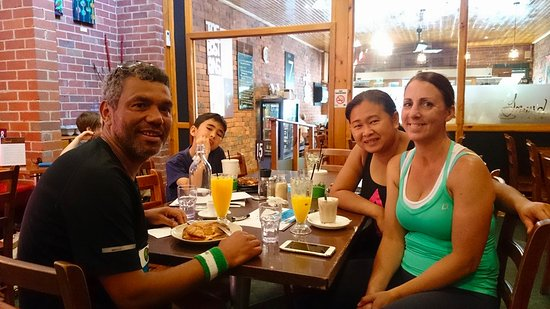 Ferntree Gully, Australia: Catching up with the girls!