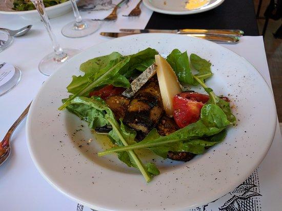 Maipu, Argentina: Grilled salad starter