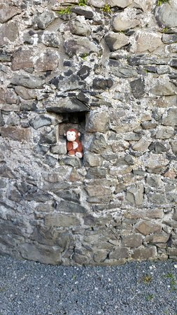 Kendal, UK: Melvin the Monkey hiding