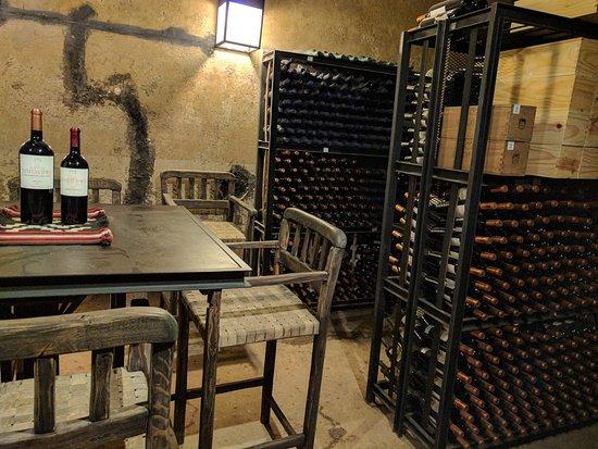 Lujan de Cuyo, Αργεντινή: Cellar at Bodega Benegas
