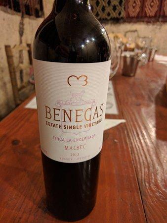 Lujan de Cuyo, Argentina: Tasting at Bodega Benegas