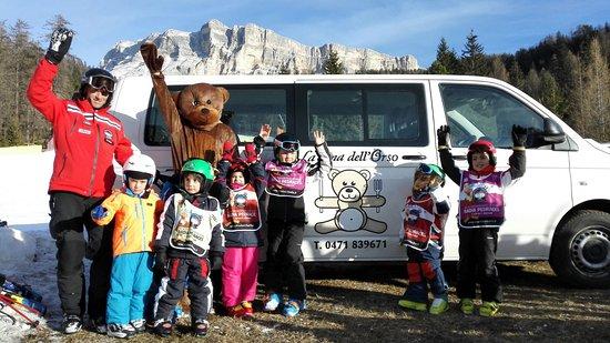 Badia, Italy: Tutti alla Tana dell'Orso!