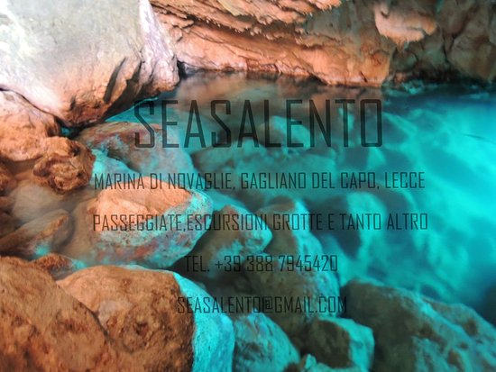 Marina di Novaglie, Italia: Le nostre GROTTE!!!