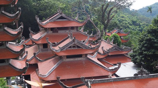 Phan Thiet, Vietnam: Toits magnifiques