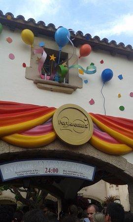 Blanca, España: Entrada