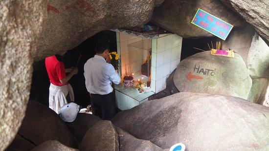 Phan Thiet, Vietnam: La grotte