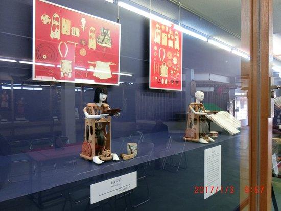Inuyama City Cultural Museum, Karakuri Museum: チャハコビ・オートマタ