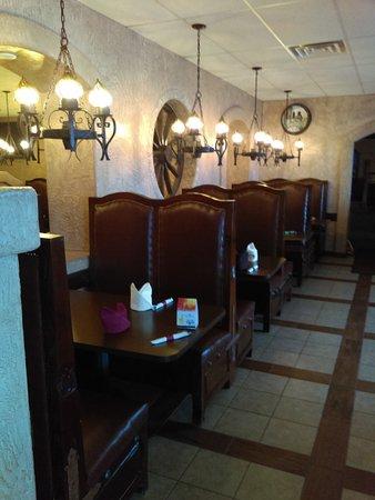 Waite Park, MN : Interior of restaurant.