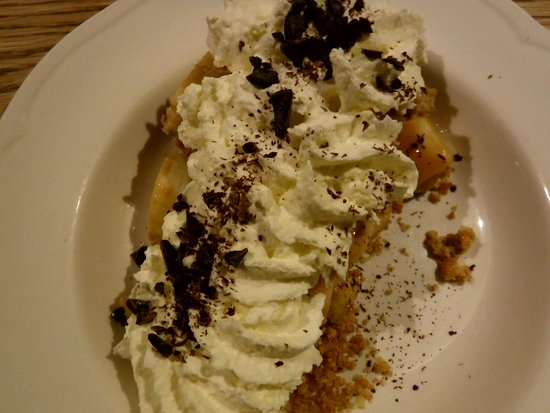 The Oak: Banoffi pie