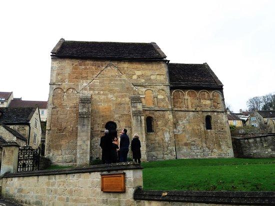 Bradford-on-Avon, UK: Igreja de St, Lawrence