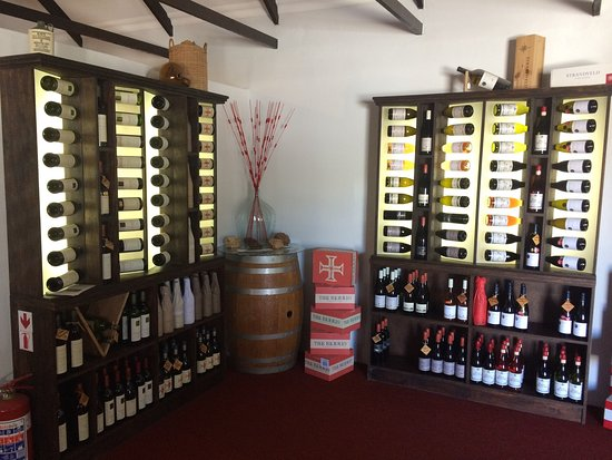 L'Agulhas, South Africa: Wine Boutique on the Shipwreck Coast