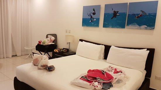 Millennium Resort & Spa: Наш номер студио делюкс на первом этаже (214 номер)