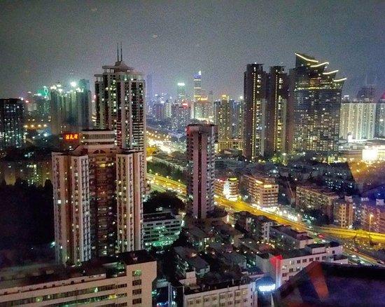 Shangri-la Hotel Shenzhen: View from the 360 bar