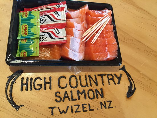Twizel, Neuseeland: High Country Salmon