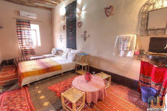 Auberge Kasbah la Datte d'Or Chez Abdellatif: twin room